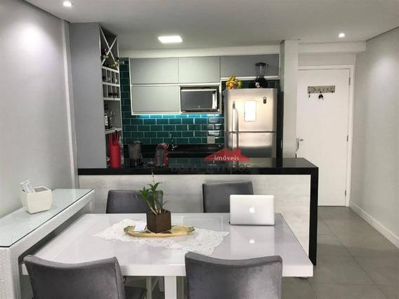 Apartamento Com 3 Dormitórios À Venda, 81 M² Por R$ 710.000 - Tatuapé - São Paulo/sp - Ap4169