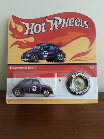 Miniatura 50 Anos Hot Wheels, Fusca