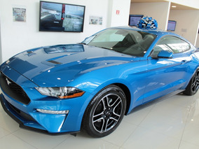 Mustang 2.3 Ecoboost Coupe Azul Electrico 2019