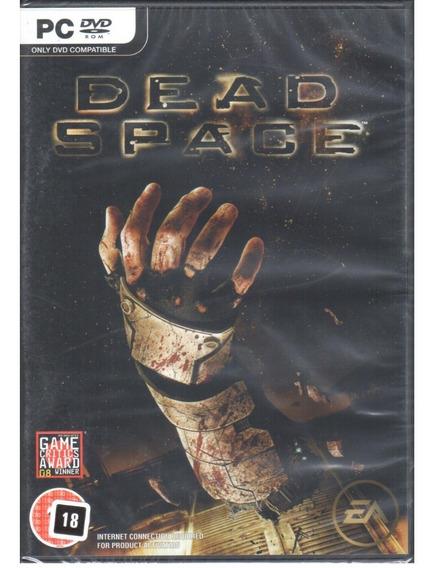 Dead Space Jogo Pc Original Mídia Física Lacrado