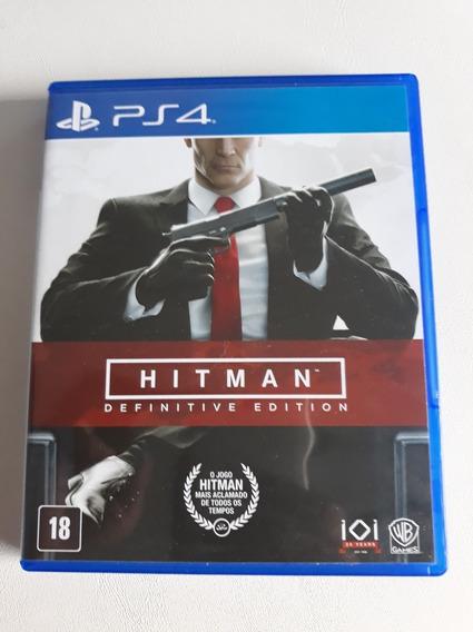 Hitman Definitive Edition Ps4 Mídia Física