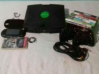 Consola Videojuego Xbox Y Psp Con Juegos