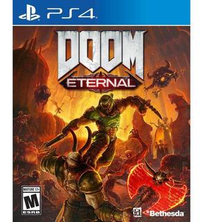 Doom Eternal Ps4 Fisico - Sellado Preventa 15 Abril!
