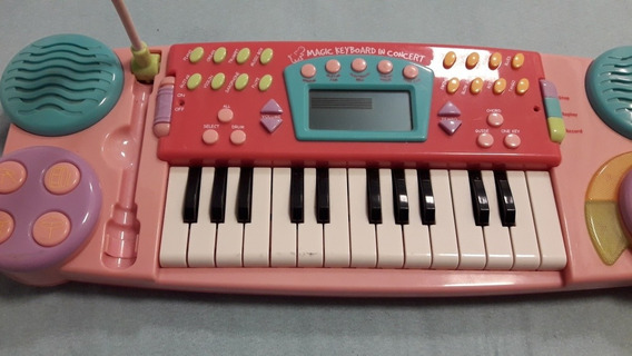 Teclado Infantil Magic Keyboard In Concert