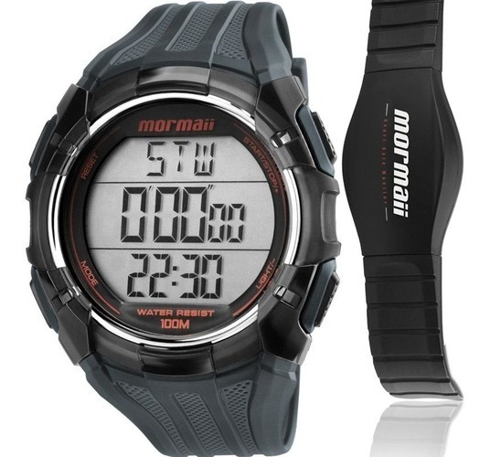 Relógio Monitor Cardíaco Mormaii Tech Mo11558a/8r