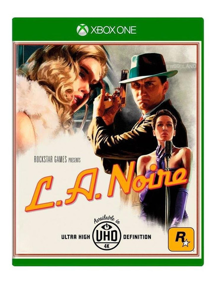 L.a. Noire Xbox One Mídia Física Pronta Entrega