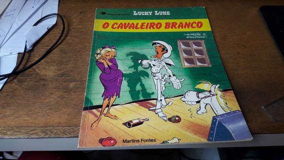 Lucky Luke - O Cavaleiro Branco - Edit. Martins Fontes