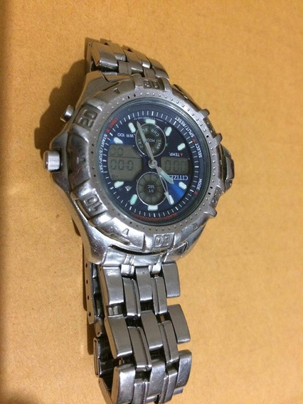 Relógio Citizen C710 Medidor De Temperatura