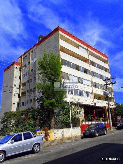 Ótimo Apartamento Com 1 Dormitório À Venda, 40 M² Por R$ 155.000 - Centro - Bragança Paulista/sp - Ap0083