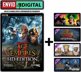 Age Of Empire Ii Hd + Todas Dlcs - Português - Envio Digital