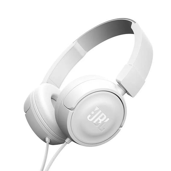 Fone De Ouvido Com Fio Jbl T500 Ear T500 Branco T 500