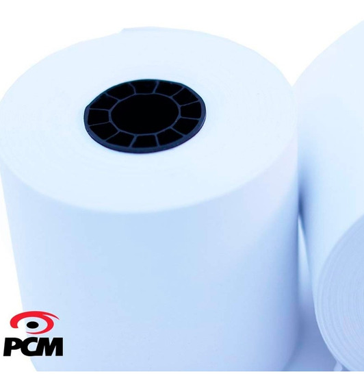 Rollo Papel Térmico Pcm 57x45 Para Mini Printer