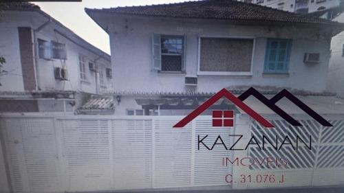 Casa No Embaré Em Santos Com 4 Dormitórios Vaga Para 3 Carros - 595