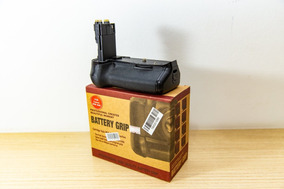 Grip Adaptador Bateria Câmera Fotografica Canon 60d