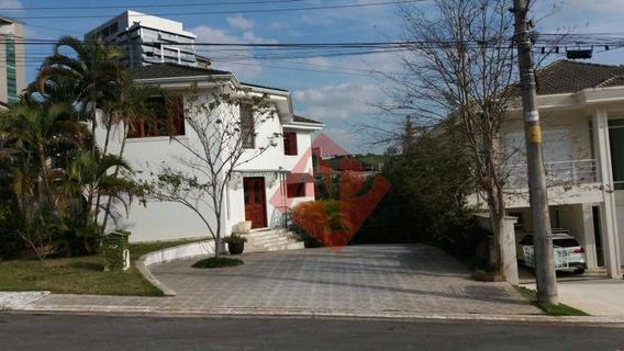 Sobrado Residencial À Venda, Residencial A Venda Em Alphaville, So0095. - So0095