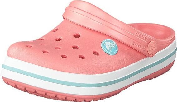 Crocs Originales Crocband Unisex - Melon / Ice Blue