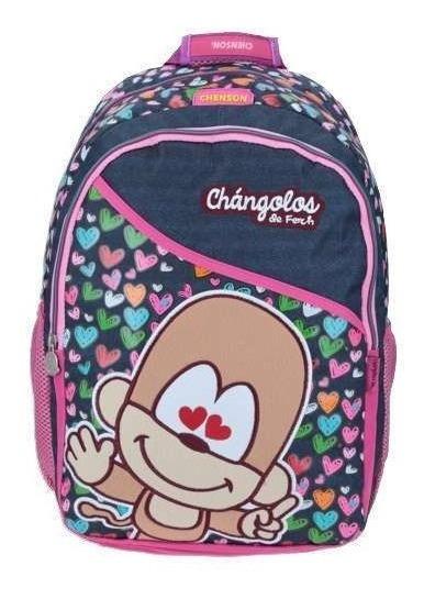 Mochila Escolar Chenson Primaria Changolo Cl63811-9 Full