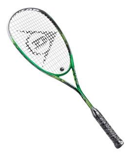 Raquete Dunlop Squash Precision Elite - Preto E Verde