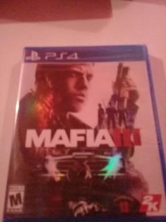Mafia 3 Ps4 Sellado Fisico