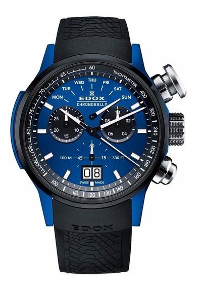 Reloj Edox Chronorally 38001tinbu1bu Ghiberti