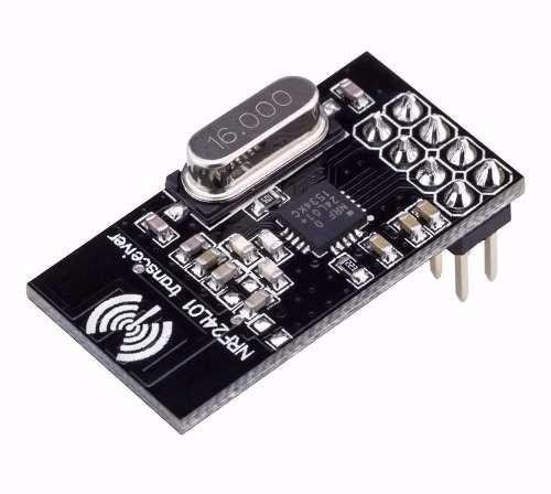 Módulo Wireless Nrf24l01 2.4 Ghz Rf Transceiver Frete Grátis