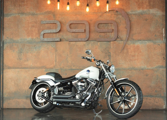 Harley Softail Breakout - 2016 E Apenas 3.449kms!!!