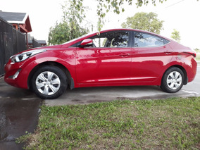 Hyundai Elantra 2014, Rojo