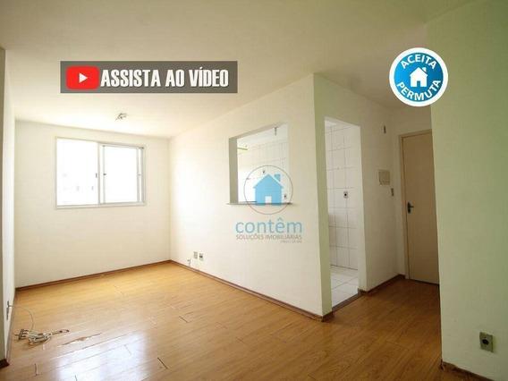 Ap1532- Apartamento Com 2 Dormitórios À Venda, 51 M² Por R$ 215.000 - Vila Silva Ribeiro - Carapicuíba/sp - Ap1532