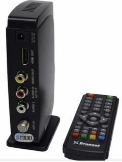 Sintonizador Tda Pronext + De 20 Canales Gratis + Antena Uhf
