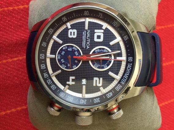 Relógio Náutica Chronograph Mod. N17580g - Pulseira Silicone