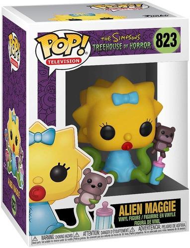 Muñeco Funko Pop 823 Simpsons Alien Maggie 39727 (5543)