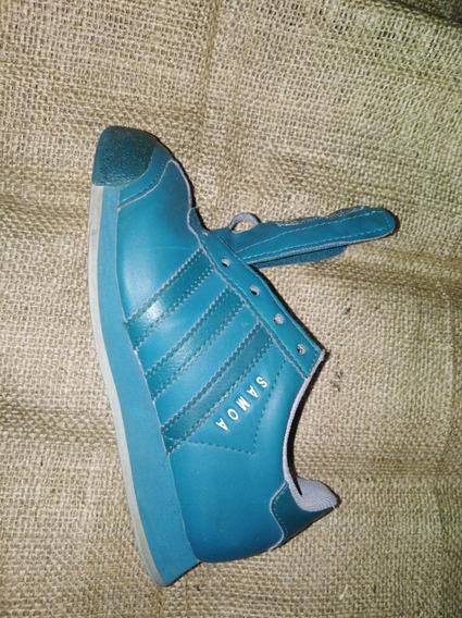 Zapatillas adidas Verdes De Cuero