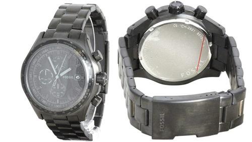 Relógio Fossil Ch 2821 Com Caixa - Seminovo - R$ 280