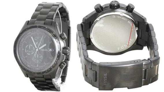 Relógio Fossil Ch 2821 Com Caixa - Seminovo - R$ 400,00