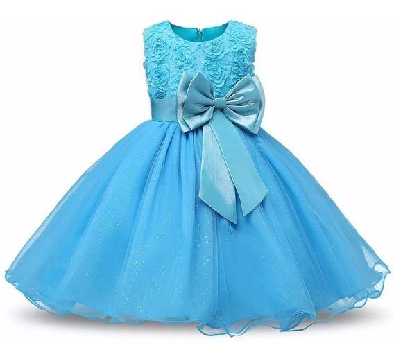 Vestido Infantil Casamento Dama De Honra Princesa Criança