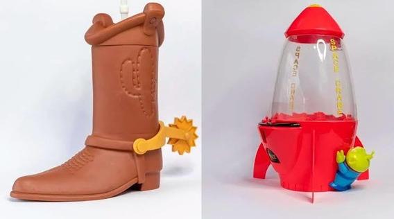 Palomera Nave Y Vaso Bota Toy Story