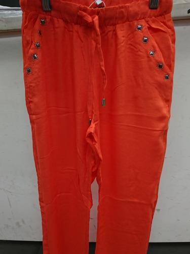 Pantalon Abril Con Tachas