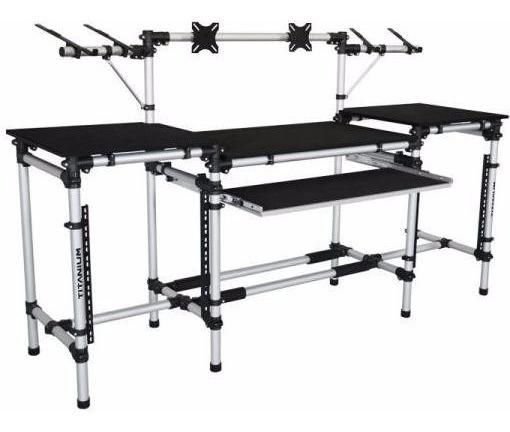 Rack Titanium Rav P/ Equipamentos Estudio Djs & Produtores