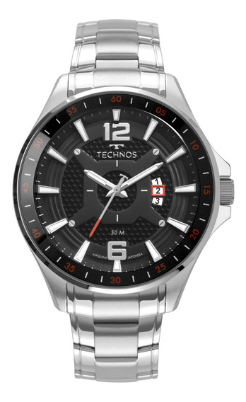 Relógio Technos Masculino Prata - 2117lbv/1p