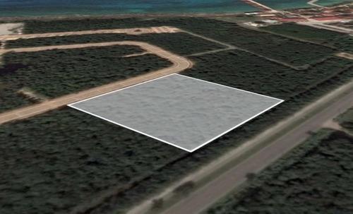 Gran Terreno En El Desarrollo Residencial Marina Cozumel