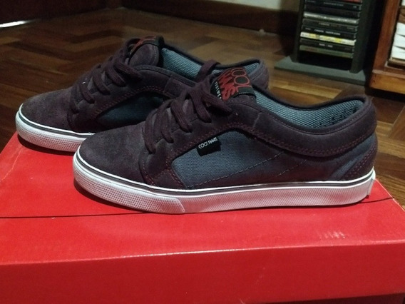 Zapatillas Good Low Bordo