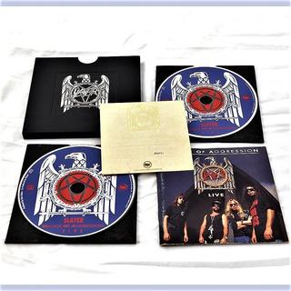Cd Slayer - Decade Of Aggression Live (metal Box)