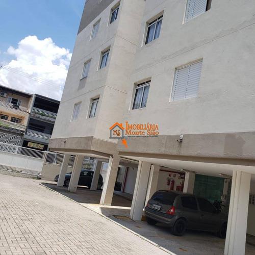 Imagem 1 de 19 de Apartamento Com 2 Dormitórios À Venda, 49 M² Por R$ 212.000,00 - Parque Continental Ii - Guarulhos/sp - Ap2630