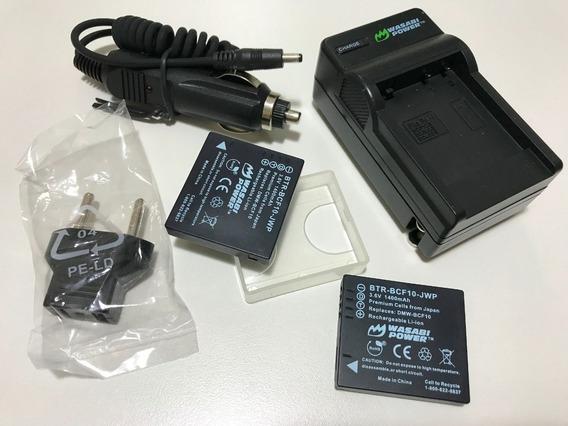 Bateria Wasabi Para Panasonic Lumix - Com 2