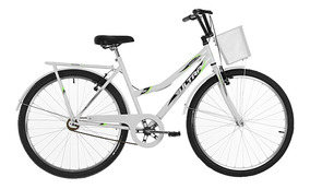 Bicicleta Aro 26 Ultra Bikes Tropical Summer V-break Branca