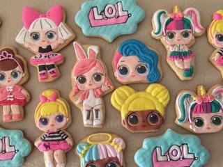 Cookies Personalizadas Con Glasé Real