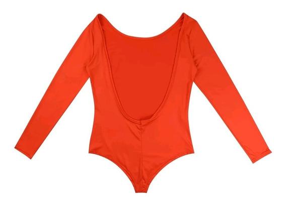 Bodysuit Mujer Espalda U Body Sin Espalda Moda Dama