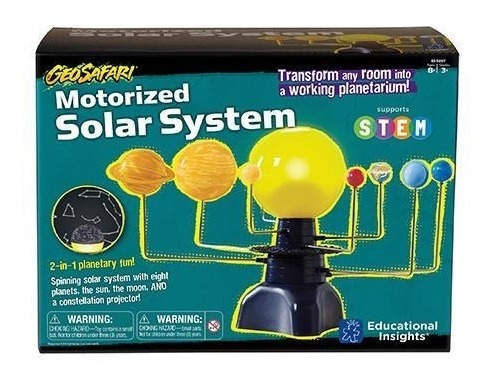 Learning Resources Geosafari Sistema Solar Motorizado