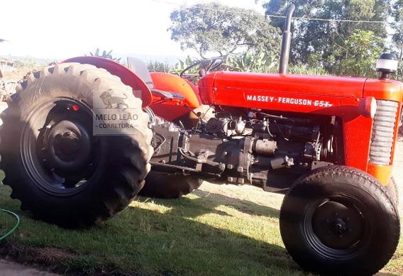 Trator Massey Ferguson 65x - Ano 1975 - 4 Marchas