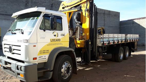 Caminhão Vw 24220 Com Munck Madal 43607